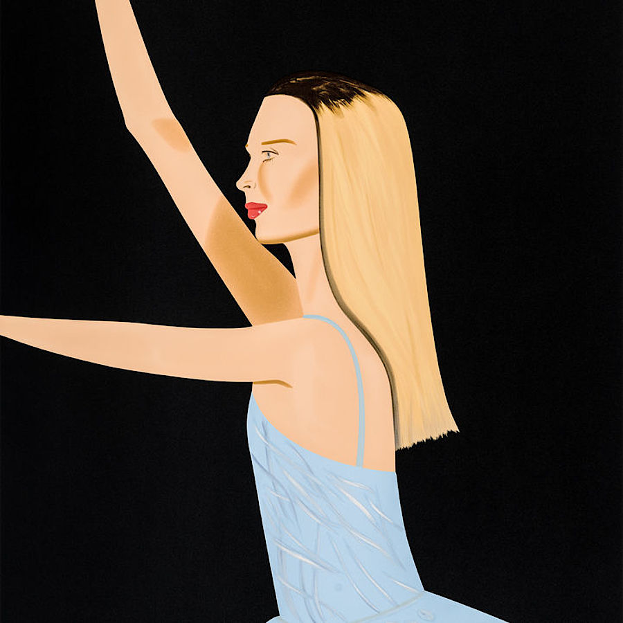 Korff Stiftung - Alex Katz - Graphics - Dancer 2
