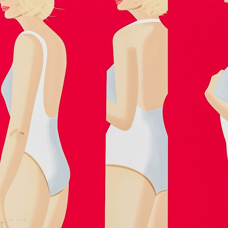 Korff Stiftung - Alex Katz - Graphics - Coca-Cola Girl #5