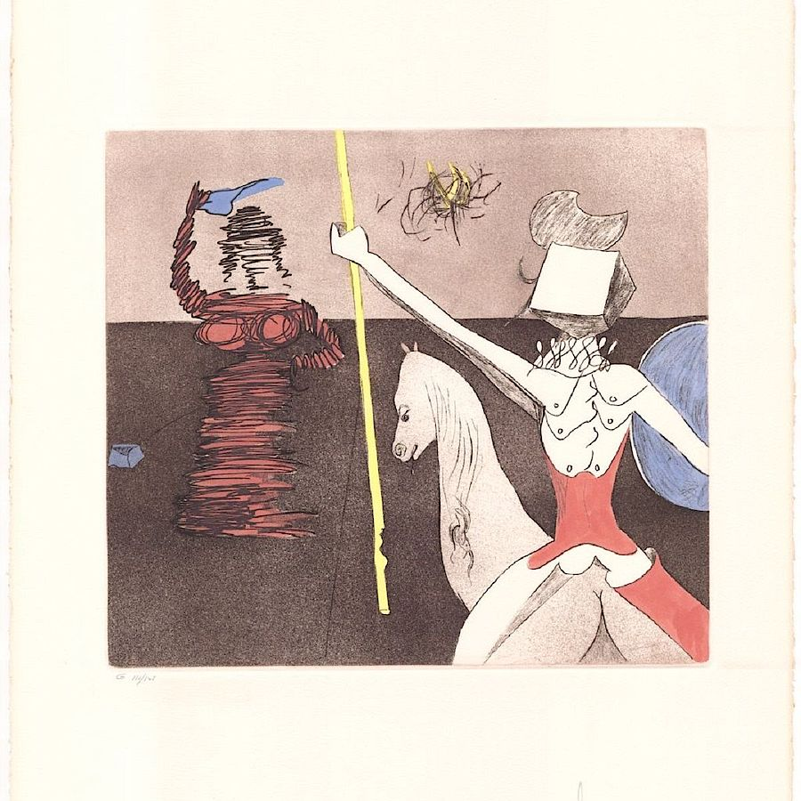 Korff Stiftung - Salvador Dali - Graphics - Off The Battle