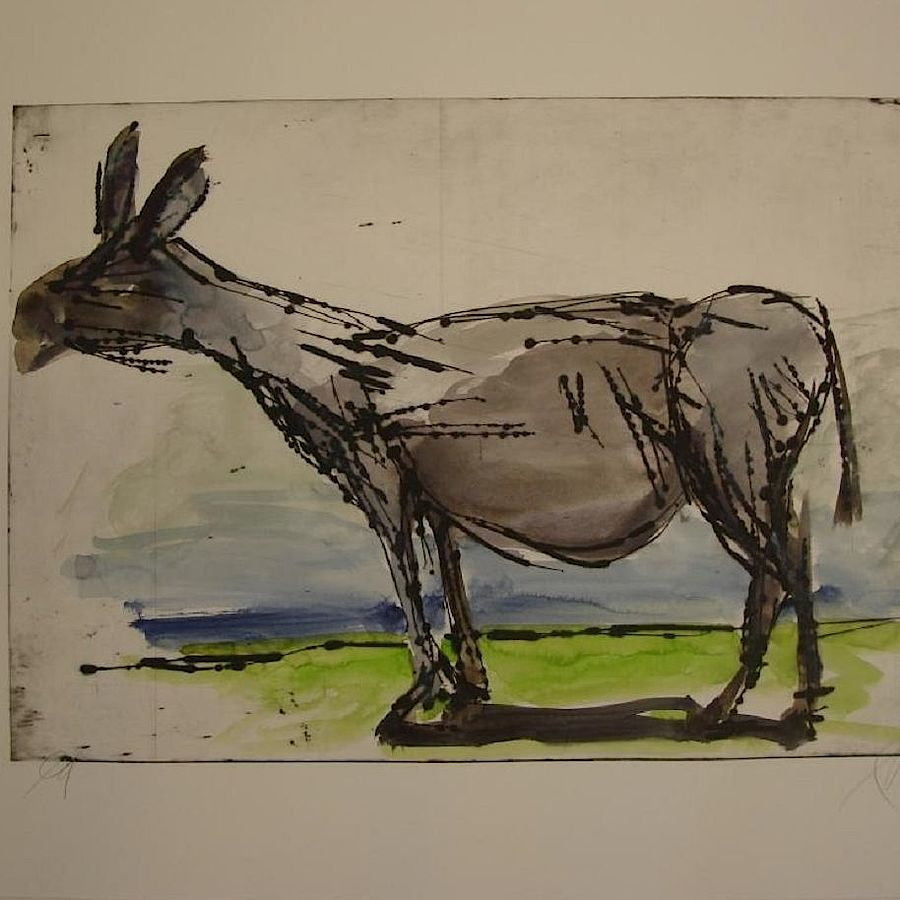 Korff Stiftung - Markus Lüpertz - Unique Works - Untitled (donkey)