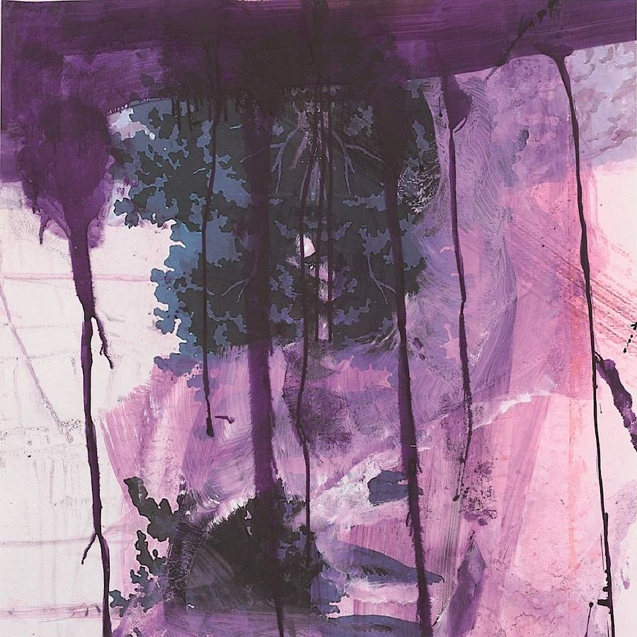 Korff Stiftung - Julian Schnabel - Graphics - Walt Whitman I (Waterfall)