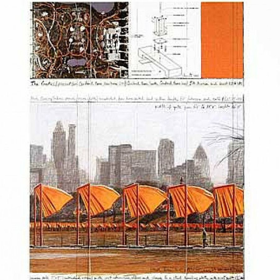 Korff Stiftung - Christo - Grafiken - The Gates XXV