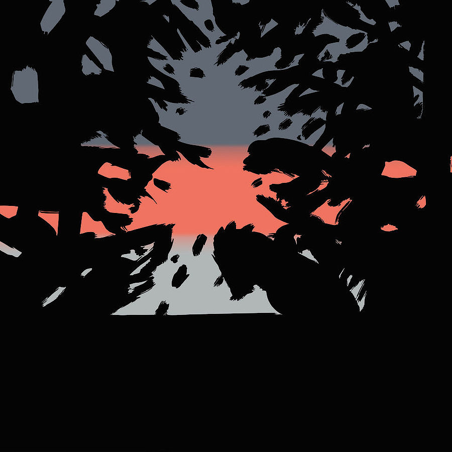 Korff Stiftung - Alex Katz - Graphics - Sunset 2