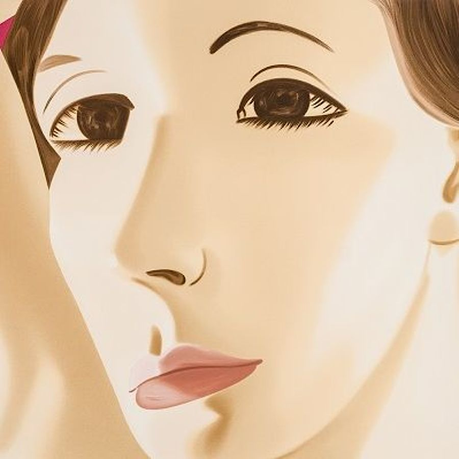 Korff Stiftung - Alex Katz - Graphics - Red Dancer 1