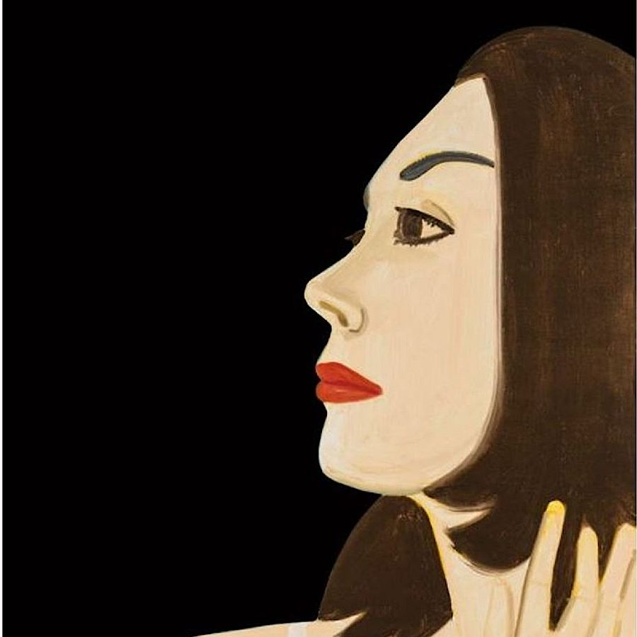 Korff Stiftung - Alex Katz - Graphics - Laura 1