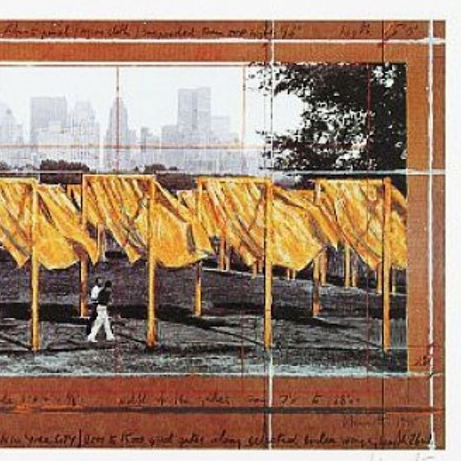 Korff Stiftung - Christo - Grafiken - The Gates II