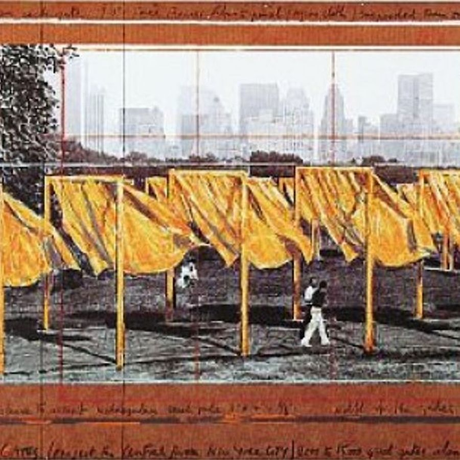 Korff Stiftung - Christo - Graphics - The Gates II
