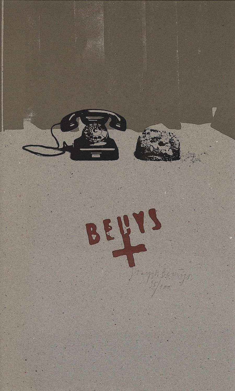 Korff Stiftung - Joseph Beuys - Graphics - Erdtelephon