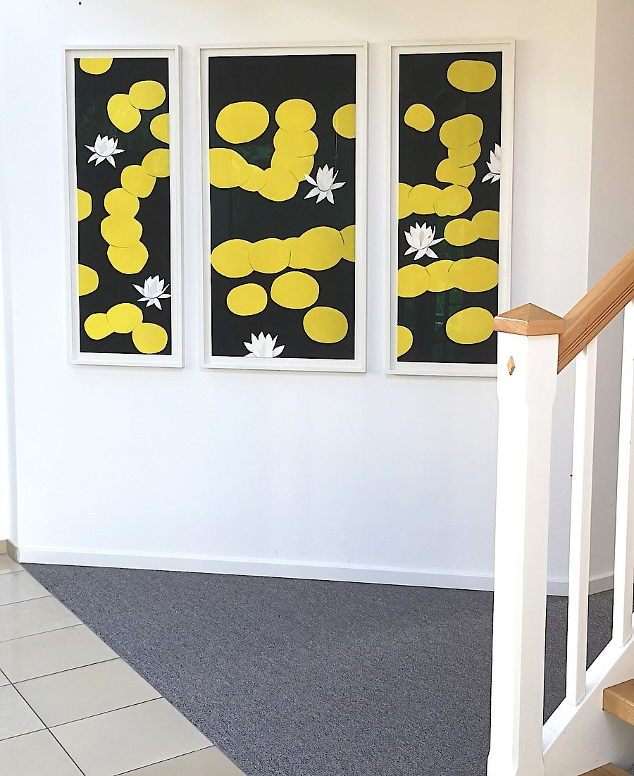 Korff Stiftung - Alex Katz - Grafiken - Homage to Monet