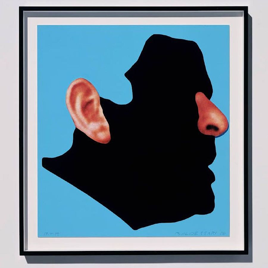 Korff Stiftung - John Baldessari - Grafiken - with nose and ear