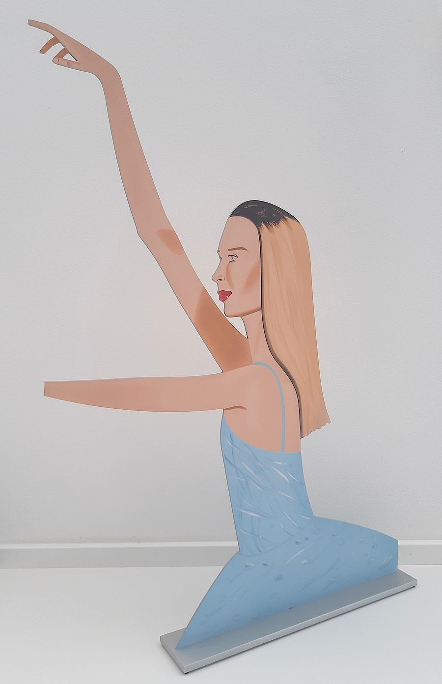 Korff Stiftung - Alex Katz - Skulpturen - Dancer 2 (Cutout)