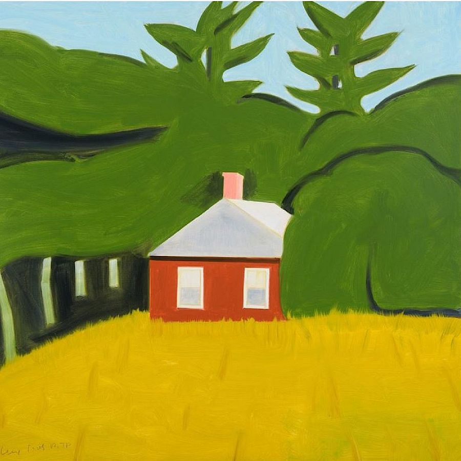 Korff Stiftung - Alex Katz - Graphics - Red House
