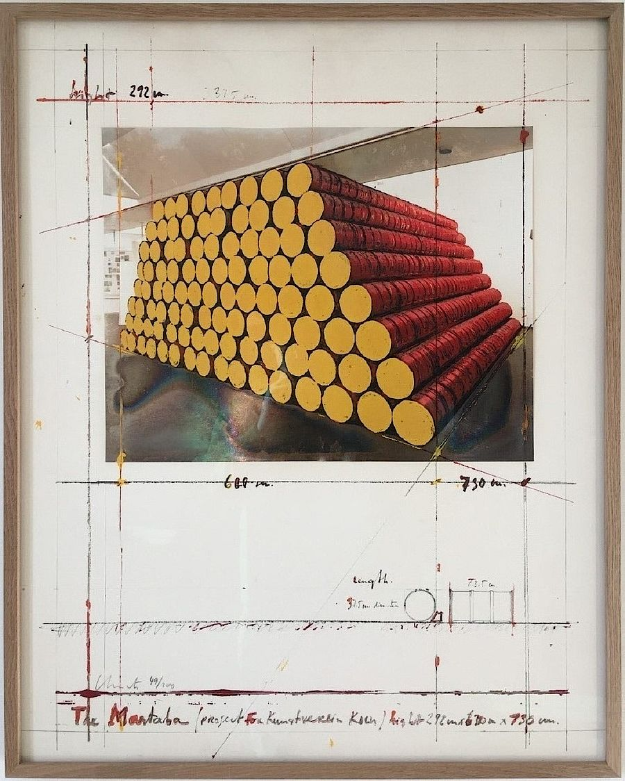 Korff Stiftung - Christo - Grafiken - The Mastaba