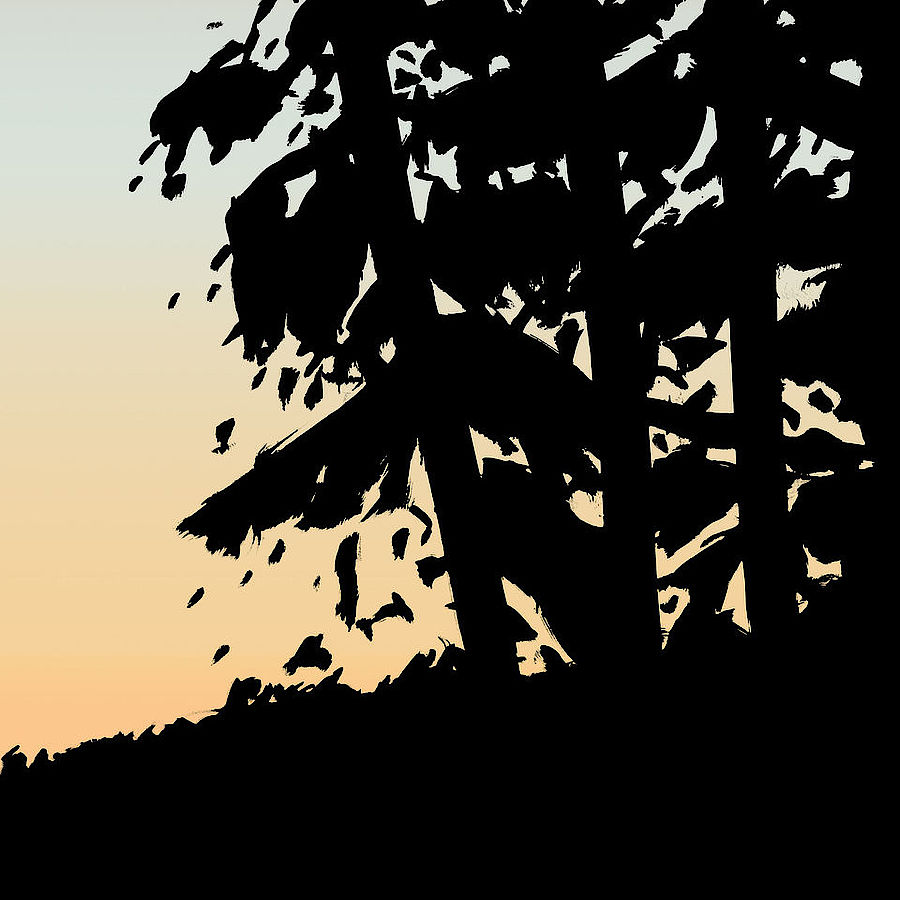 Korff Stiftung - Alex Katz - Graphics - Sunset 1