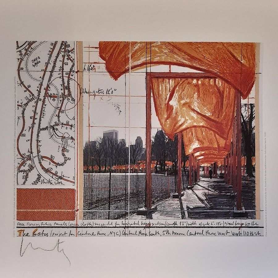 Korff Stiftung - Christo - Grafiken - The Gates XV
