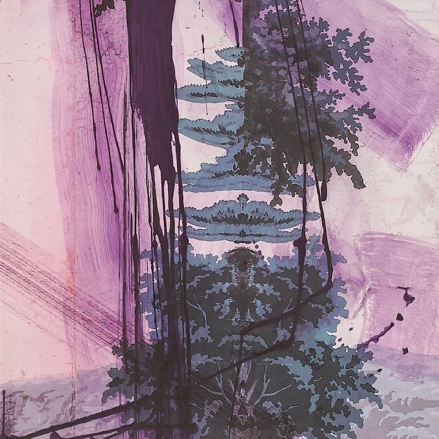 Korff Stiftung - Julian Schnabel - Graphics - Walt Whitman IV (Air)
