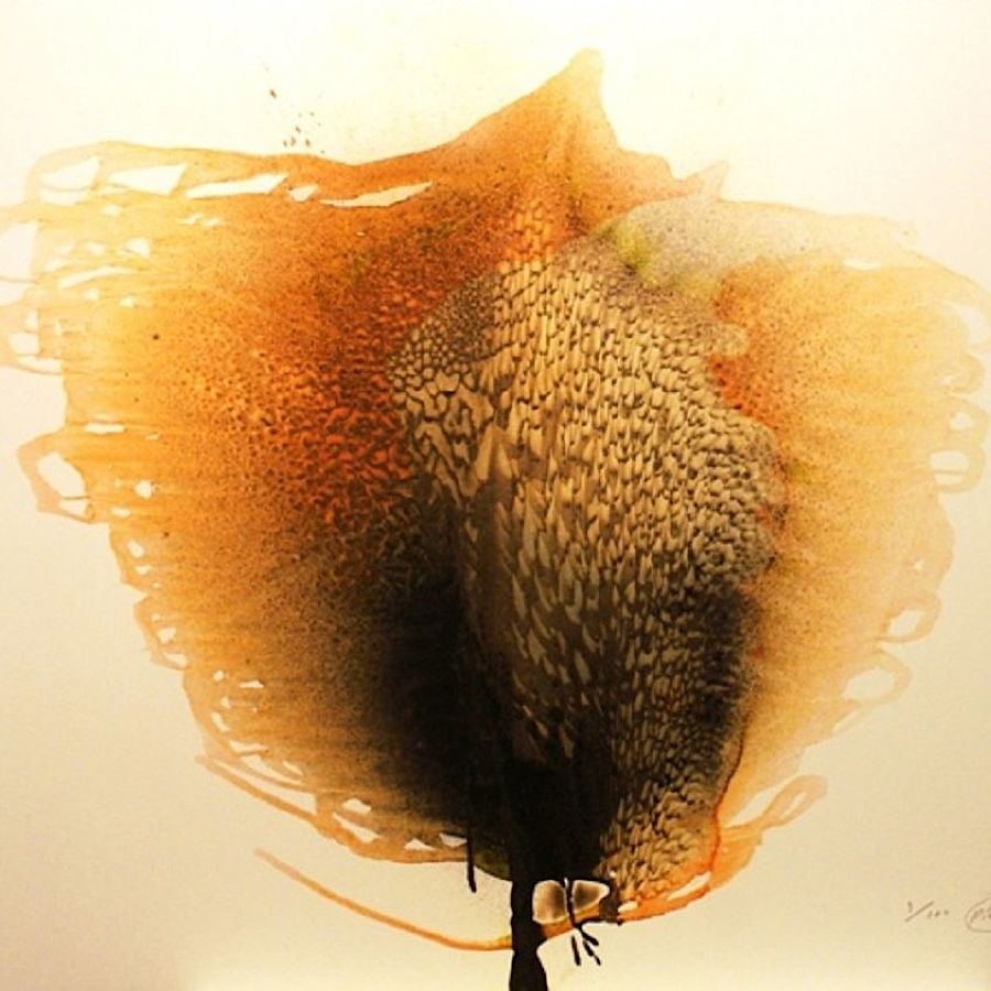 Korff Stiftung - Otto Piene - Grafiken - Unknown Tree