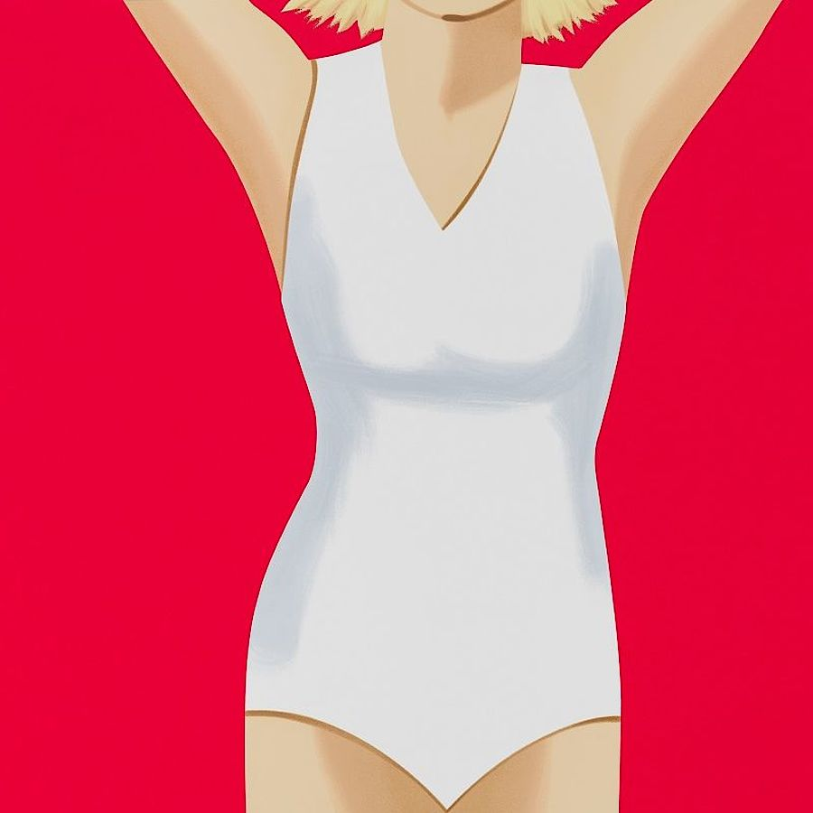 Korff Stiftung - Alex Katz - Graphics - Coca-Cola Girl #2