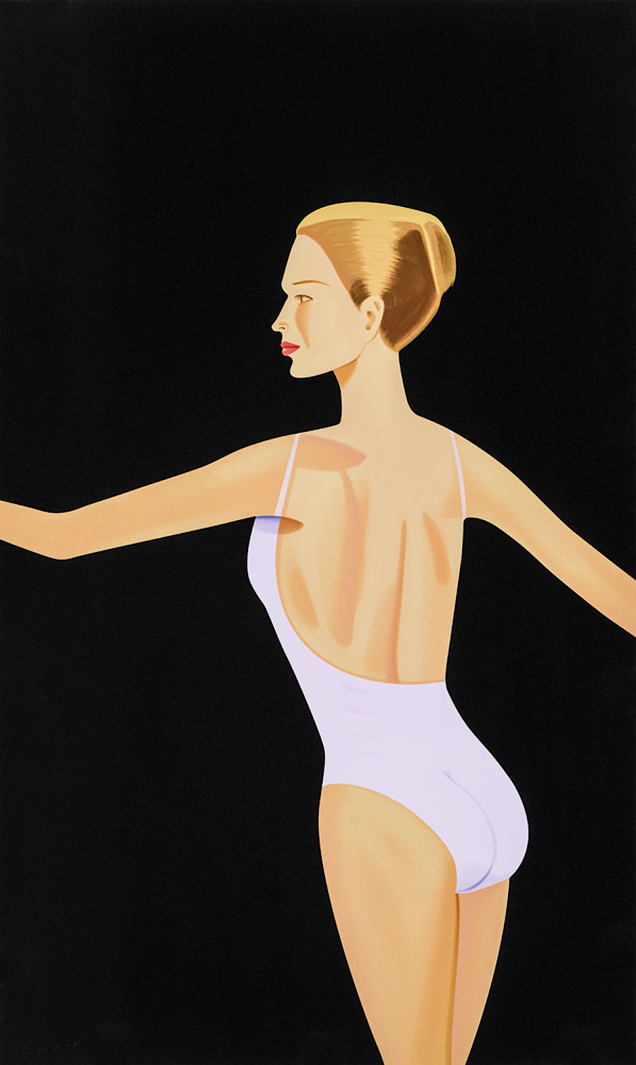 Korff Stiftung - Alex Katz - Graphics - Dancer 3