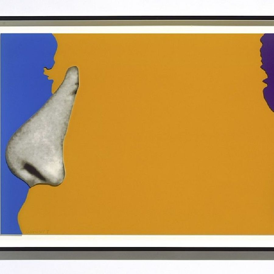 Korff Stiftung - John Baldessari - Grafiken - Face with Nose & Ear