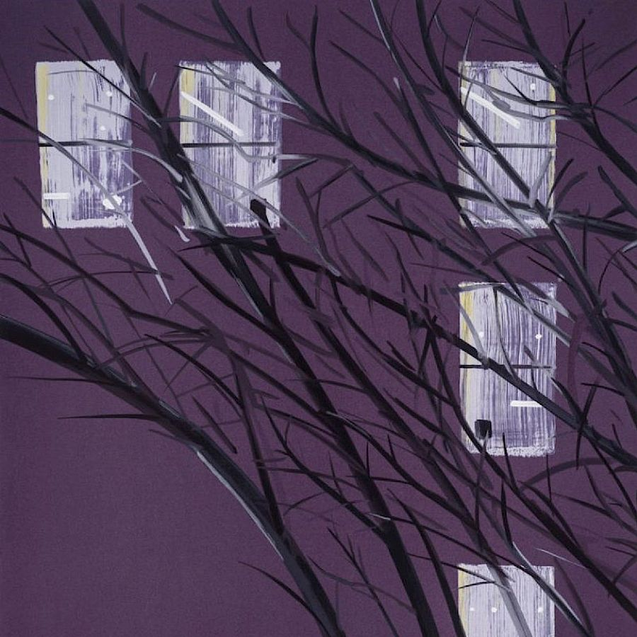 Korff Stiftung - Alex Katz - Graphics - Purple Wind