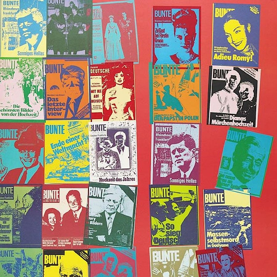Korff Stiftung - Andy Warhol - Unique Works - Magazine and History
