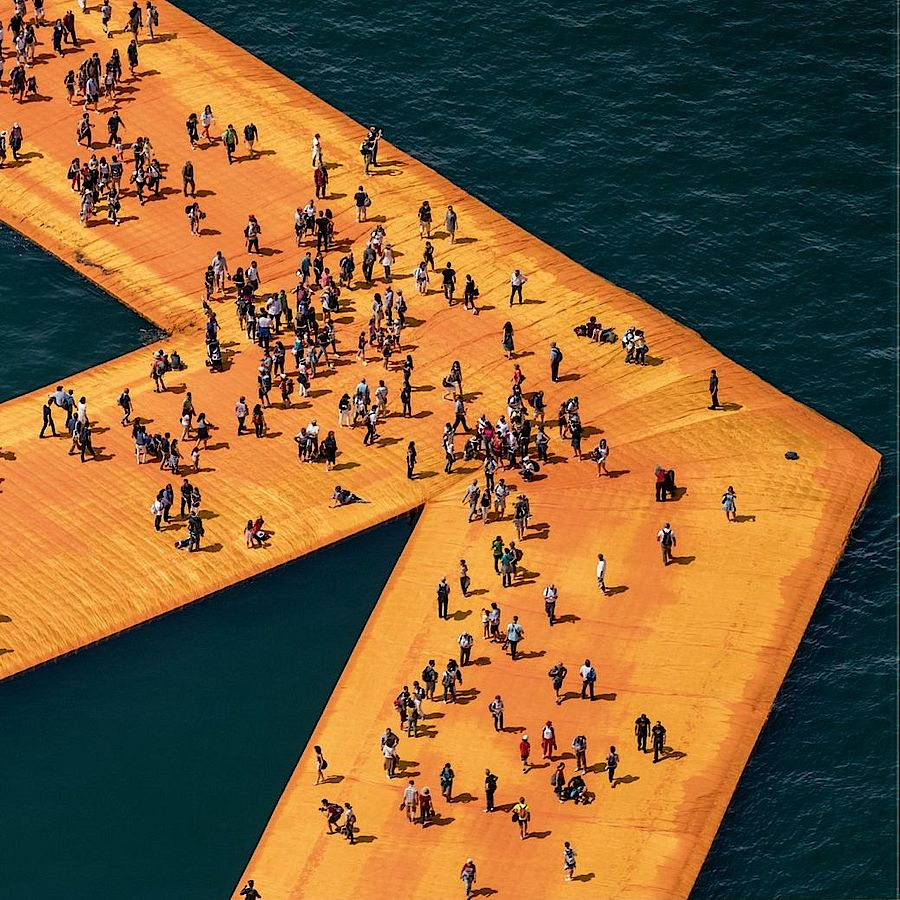 Korff Stiftung - Christo - Graphics - The Floating Piers