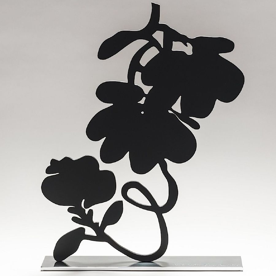 Korff Stiftung - Donald Sultan - Sculptures - Black Lantern Flowers