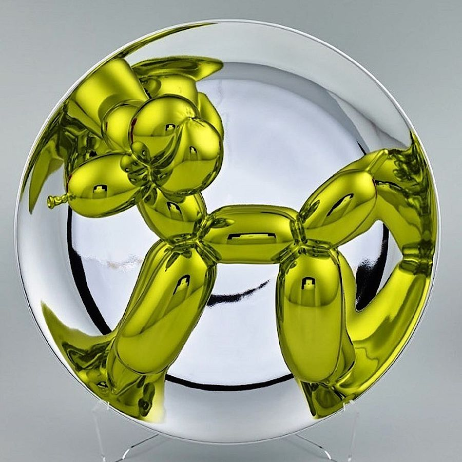 Korff Stiftung - Jeff Koons - Skulpturen - Balloon Dog Yellow