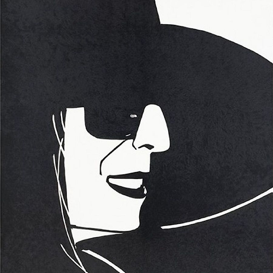 Korff Stiftung - Alex Katz - Graphics - Large Black Hat
