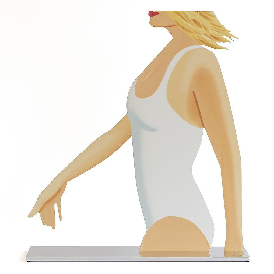 Korff Stiftung - Alex Katz - Sculptures - Cola Girl Cutout
