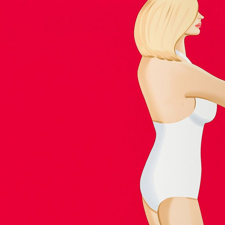 Korff Stiftung - Alex Katz - Graphics - Coca-Cola Girl #3
