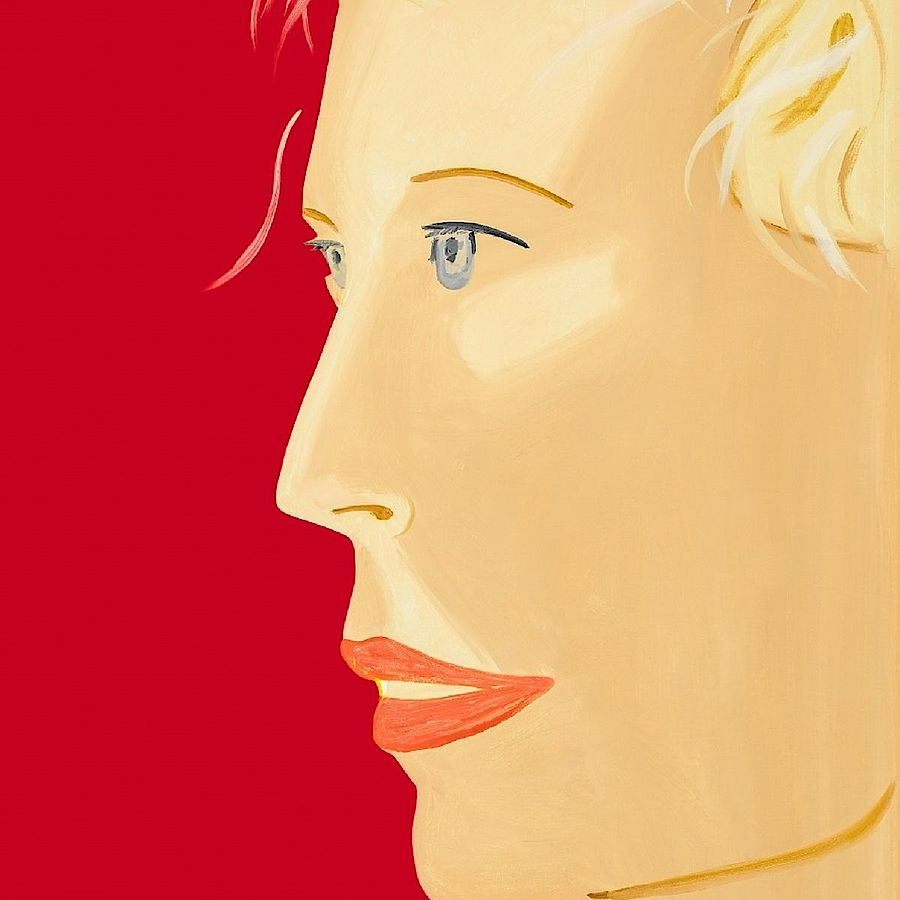 Korff Stiftung - Alex Katz - Graphics - Coca-Cola Girl (red)