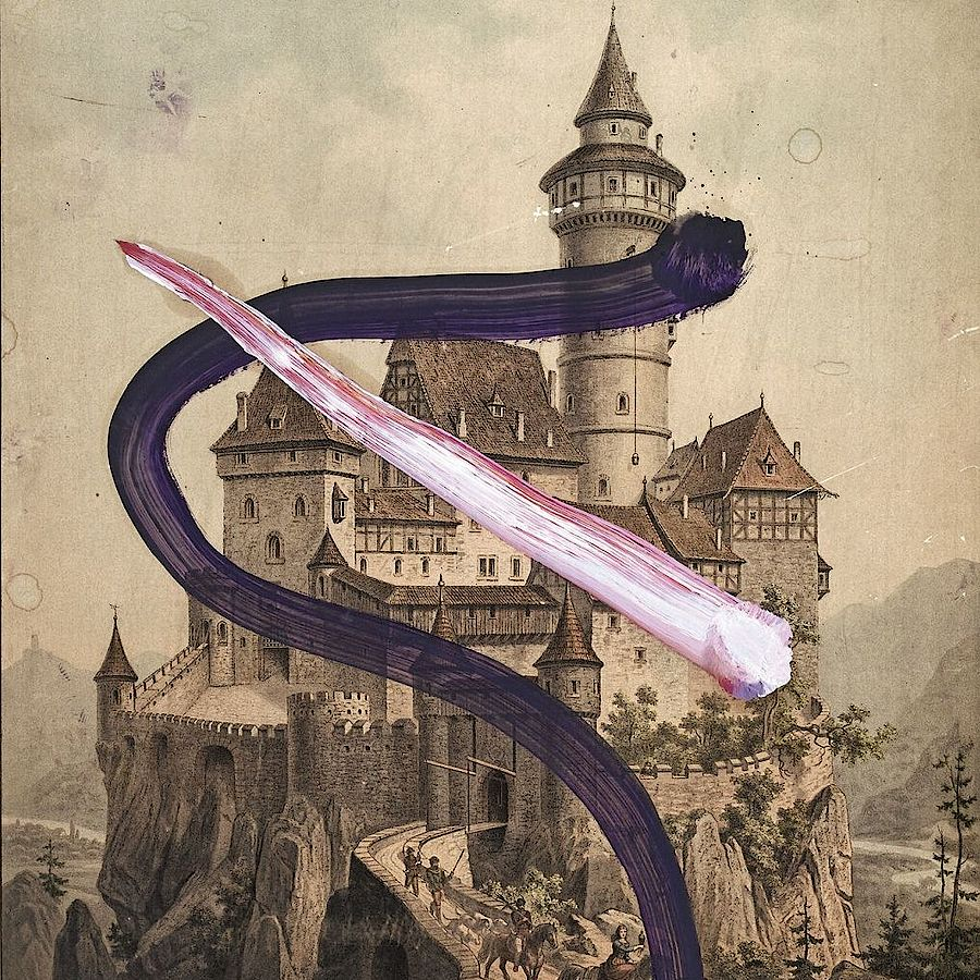 Korff Stiftung - Julian Schnabel - Graphics - Untitled (Ritterburg)