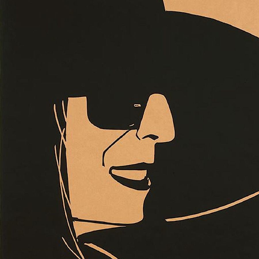 Korff Stiftung - Alex Katz - Graphics - Black Hat Ada