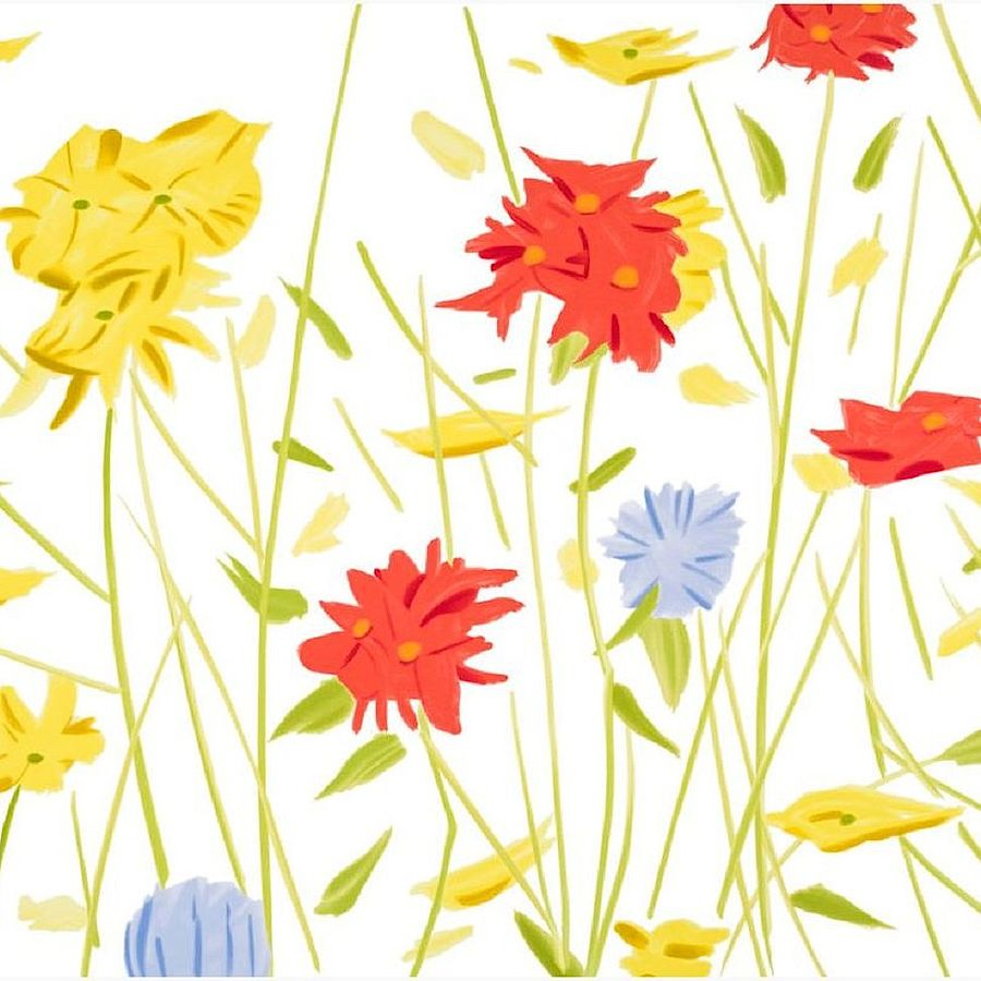 Korff Stiftung - Alex Katz - Graphics - Wildflowers