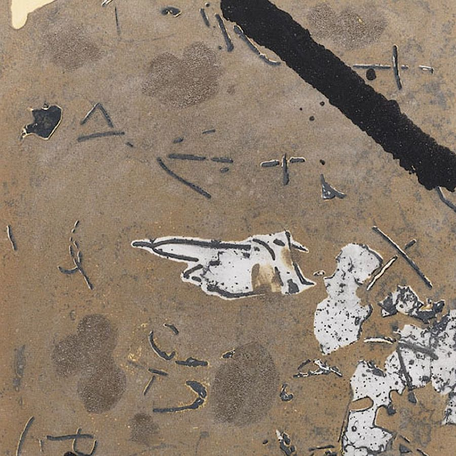 Korff Stiftung - Antoni Tapies - Graphics - Graffiti sobre Ciment