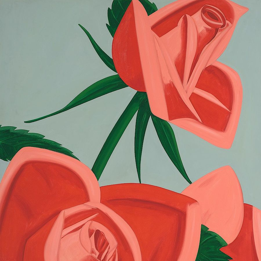Korff Stiftung - Alex Katz - Graphics - Rose Bud