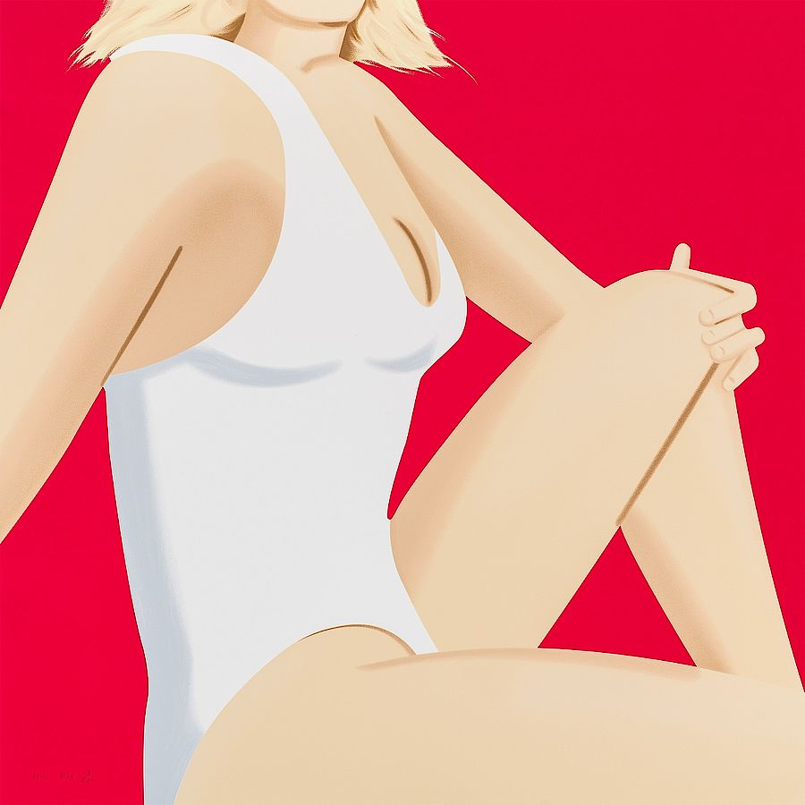 Korff Stiftung - Alex Katz - Graphics - Coca-Cola Girl #7