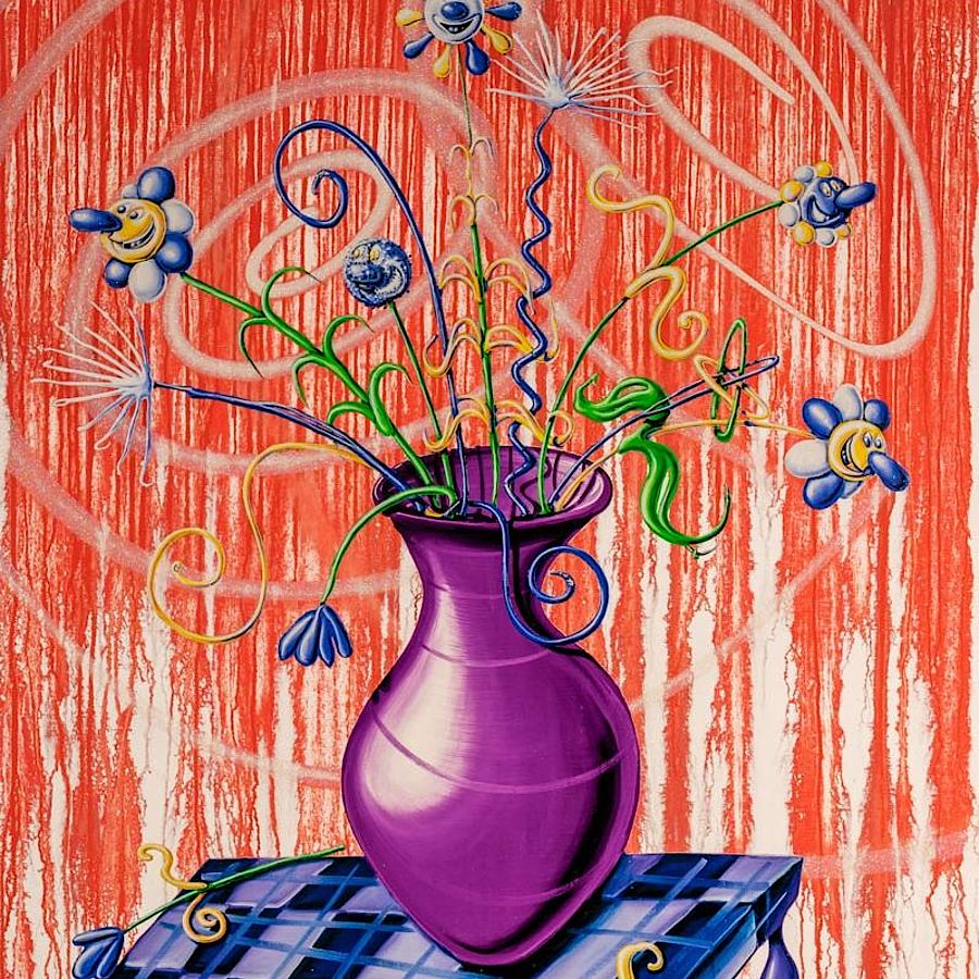 Korff Stiftung - Kenny Scharf - Graphics - Flores Red