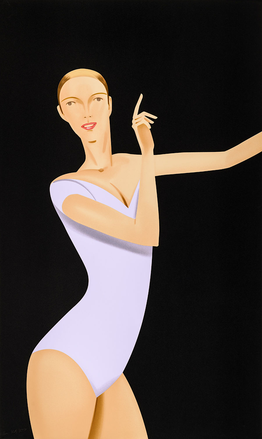 Korff Stiftung - Alex Katz - Graphics - Dancer 1