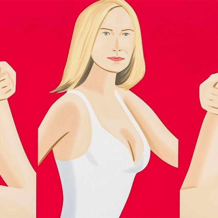 Korff Stiftung - Alex Katz - Graphics - Coca-Cola Girl #9