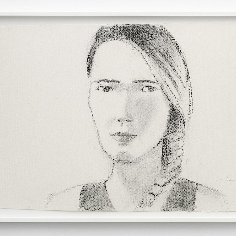 Korff Stiftung - Alex Katz - Unique Works - Katherine