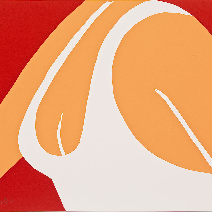 Korff Stiftung - Alex Katz - Graphics - Coca -Cola Girl 11