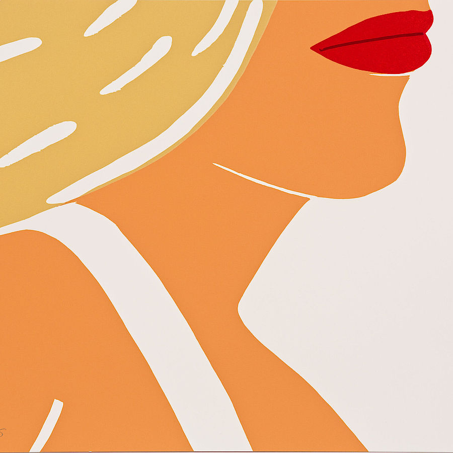 Korff Stiftung - Alex Katz - Graphics - Coca -Cola Girl 10