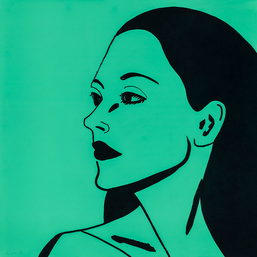 Korff Stiftung - Alex Katz - Graphics - Laura 3