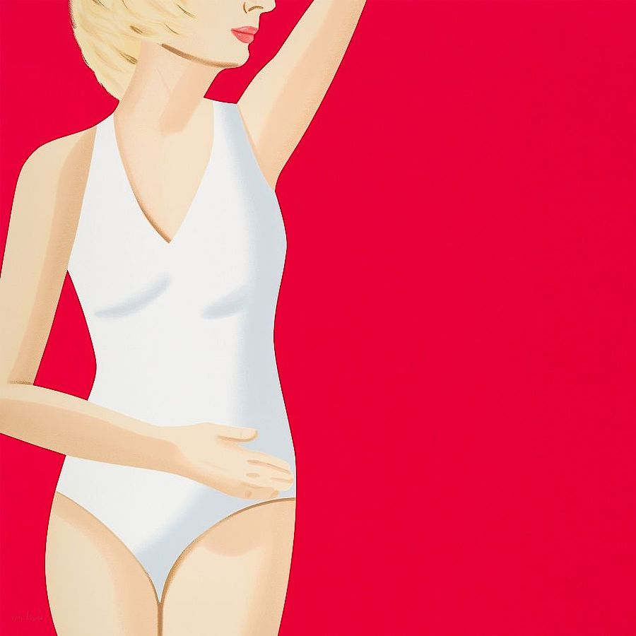 Korff Stiftung - Alex Katz - Graphics - Coca-Cola Girl #4