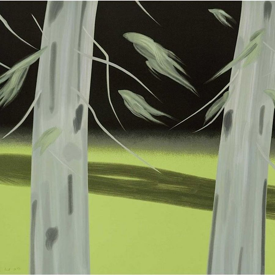 Korff Stiftung - Alex Katz - Grafiken - Three Trees