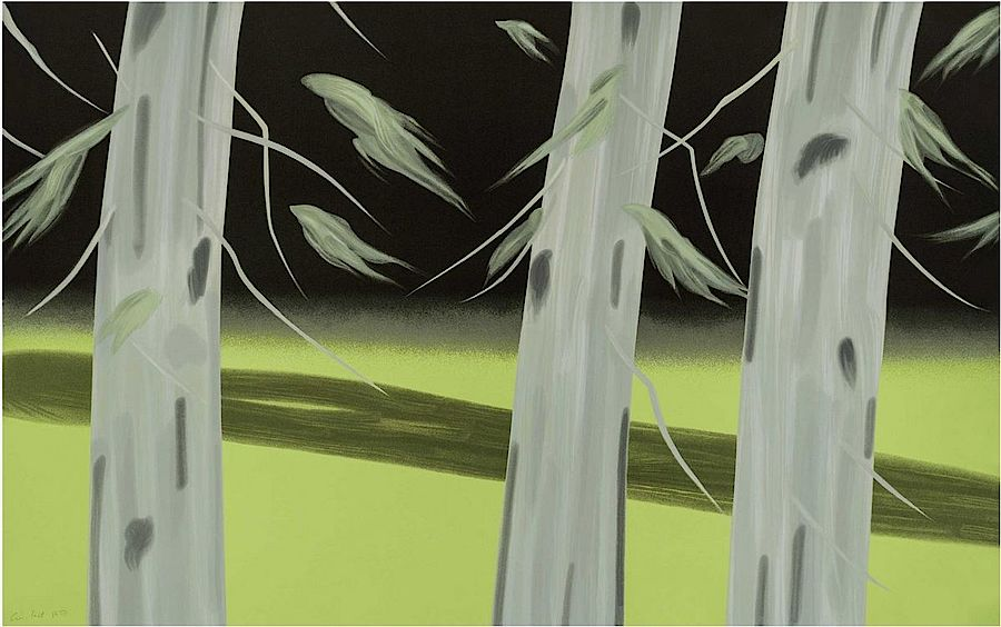 Korff Stiftung - Alex Katz - Graphics - Three Trees